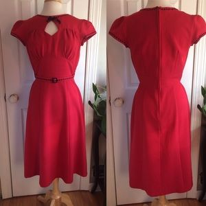 Stop Staring Red Dress Size Large